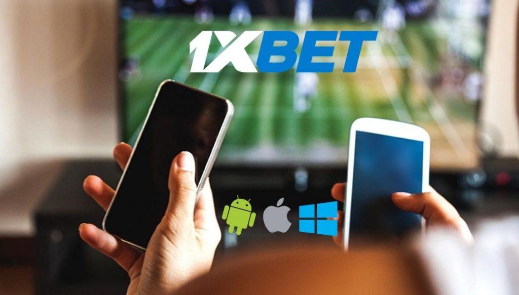 Live ставки в мобильном приложении 1xbet